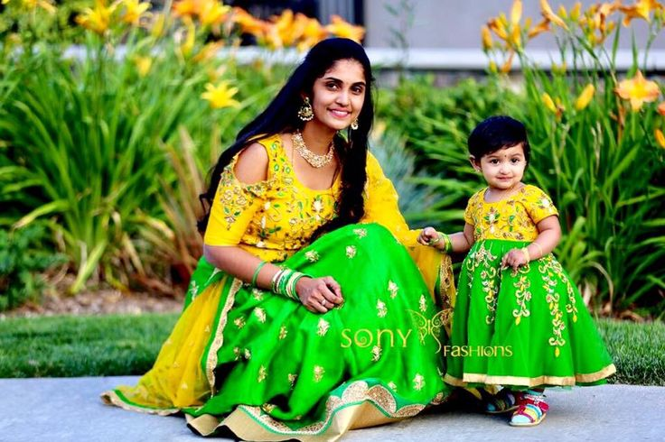 Gorgeous mommy and Beautiful kiddo .To get your Attires customised kindly reach  on :- Teamsonyfashions@gmail.com Call or whtsapp:-8008100885 . 23 June 2017