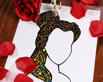 Zentangle Sea Hair by ZenspireDesigns on Etsy