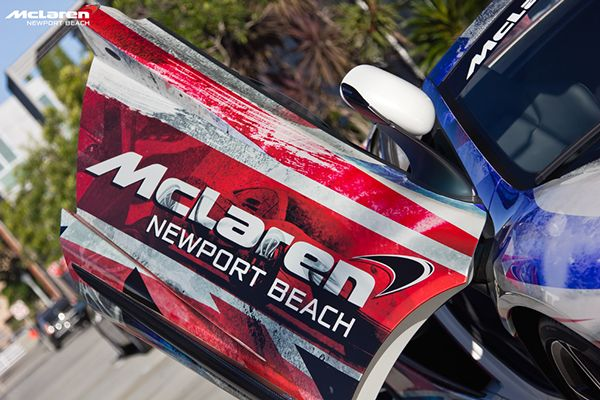 McLaren Newport Beach's Flag-Wrapped 650S Spider