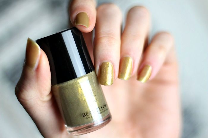 beautylope nagellack orial gold