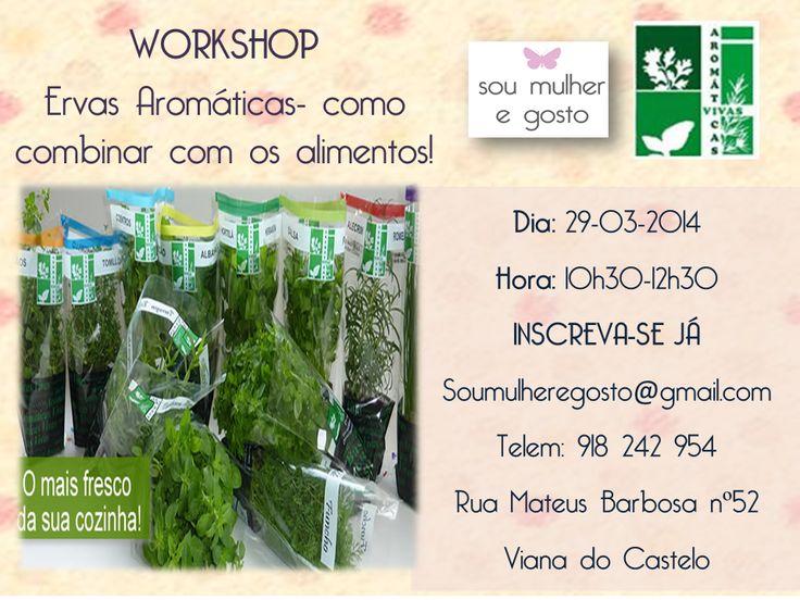 Workshop Ervas Aromáticas