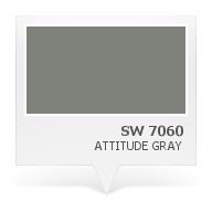 SW 7060 - Attitude Gray