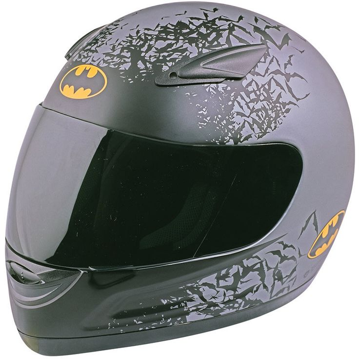 batman motorcycle helmets | Box BX-2R Batman Shadow Motorcycle Helmet - Box - Ghostbikes.com