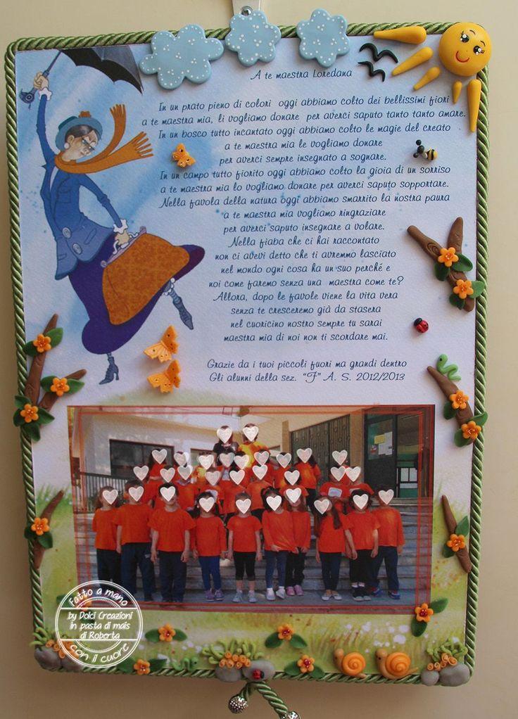 Regali alle maestre personalizzati: PANNELLO MARY POPPINS