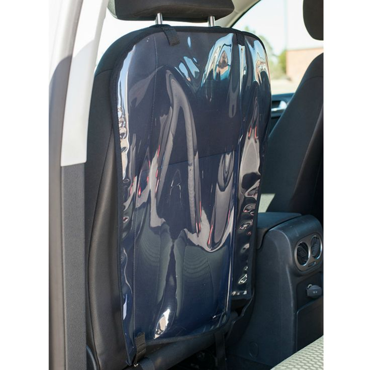 Clear Back Seat Protector. Fits onto the back seat of any car to keep it clean…