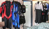 Drysuits, wetsuits and undersuits at The Scuba Doctor