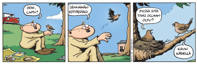 Finnish pun. Fingerpori