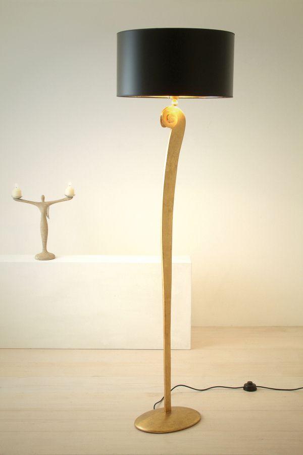 Hollander Stehleuchte Lino In 2020 Design Leuchten Lampentisch Lampe