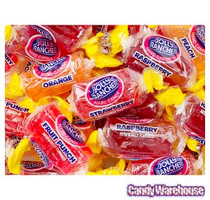 FRUIT PUNCH, & PEACH JOLLY RANCHERS...MY FAVORITES!!!