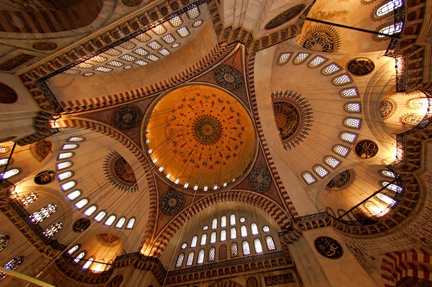 Inside the Blue #Mosque, Istanbul #travel #Istanb…