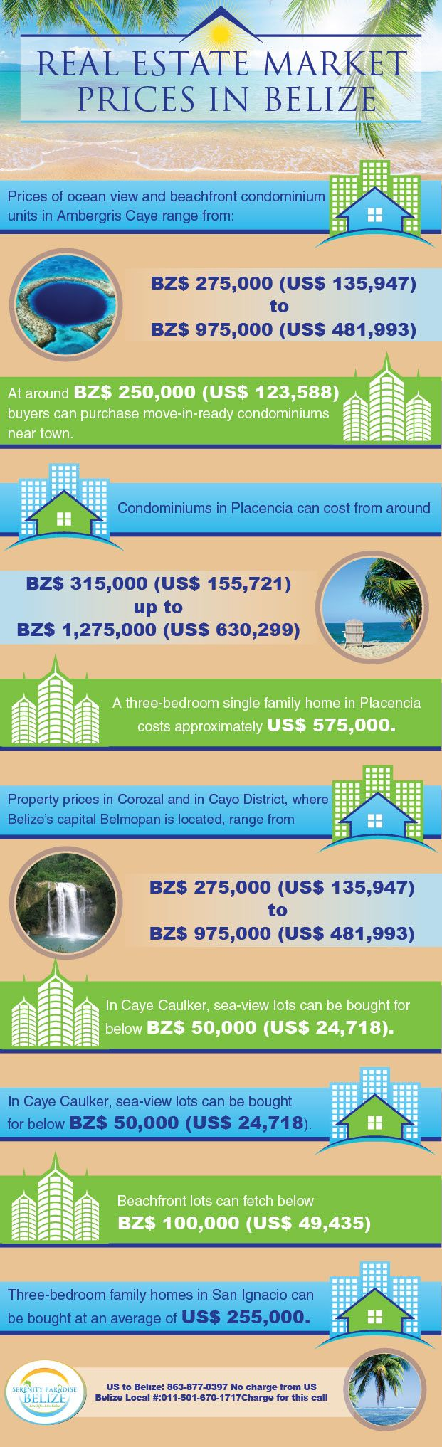 Serenity Paradise is the builder of residential lots in Belize, only 1800ft from the beautiful Corozal Bay. Our residential lots begin at the price of