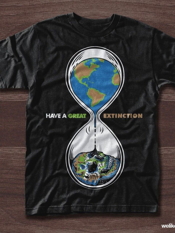 a79b3fbb 38 t-shirt design ideas that won't wear out. Environmental t-shirt  illustration of the Earth inside of an hourglass