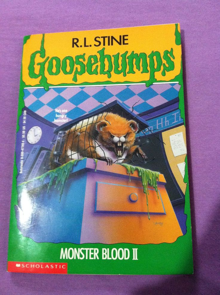 Vintage 1994 Goosebumps Monster Blood II Paperback Book RL Stine Great Condition