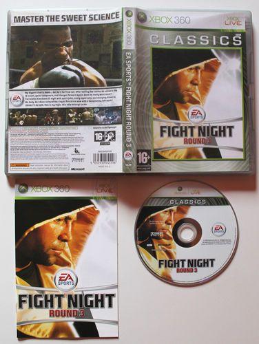 XBOX 360 Fight Night Round 3 in OVP für X-Box 360.