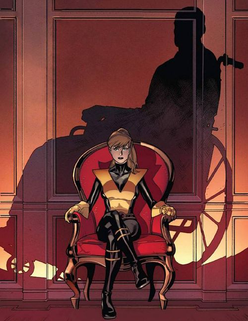 Kitty Pryde by Stuart Immonen #Shadowcat
