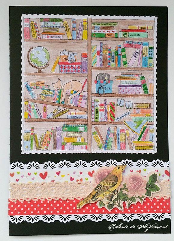 Felicitare aniversară realizată de Talente de Năzdrăvani. Produse DACOart utilizate: Dantelă crem, Bandă textilă Roșu îmbulinat!, Lipește-mă drăguț, Bandă dublu adezivă buretată, Etichete fluturi și trandafiri. ARTICOL BLOG: http://talentedenazdravani.eu/blog/2016/09/14/felicitare-aniversara/