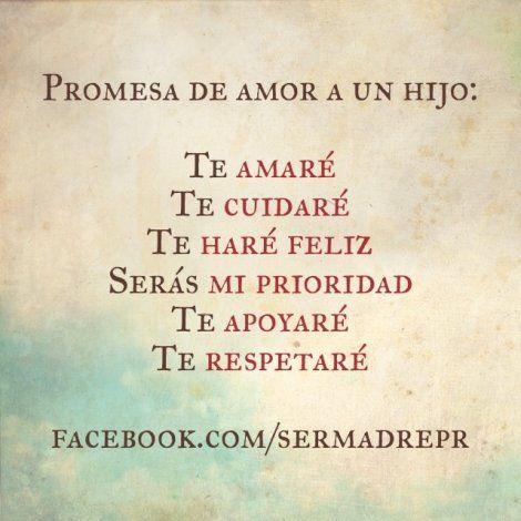 Promesa de amor a un recién nacido @Lezeidarís Morales