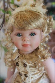 """18"""" blonde doll-Shay Doll"""