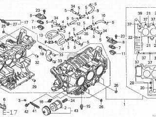 Honda GL1800 GOLDWING 2008 (8) JAPAN SC47-161 parts lists