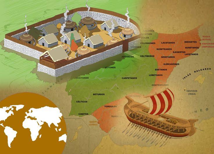 La Eduteca - Momentos de la historia: La Edad Antigua: los íberos, los c...