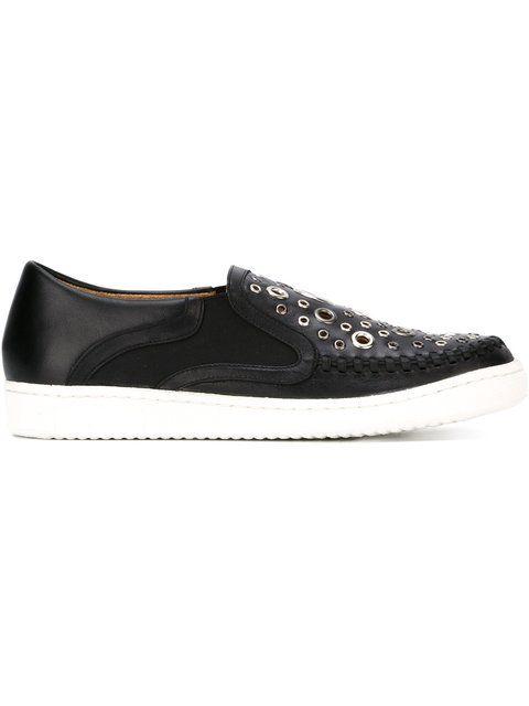 THAKOON ADDITION 'Warwick 5' slip-on sneakers. #thakoonaddition #shoes #