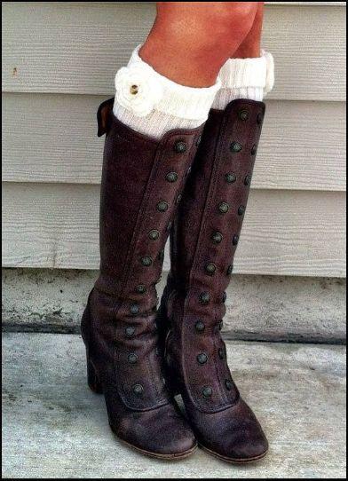 Vintage Boots + Socks