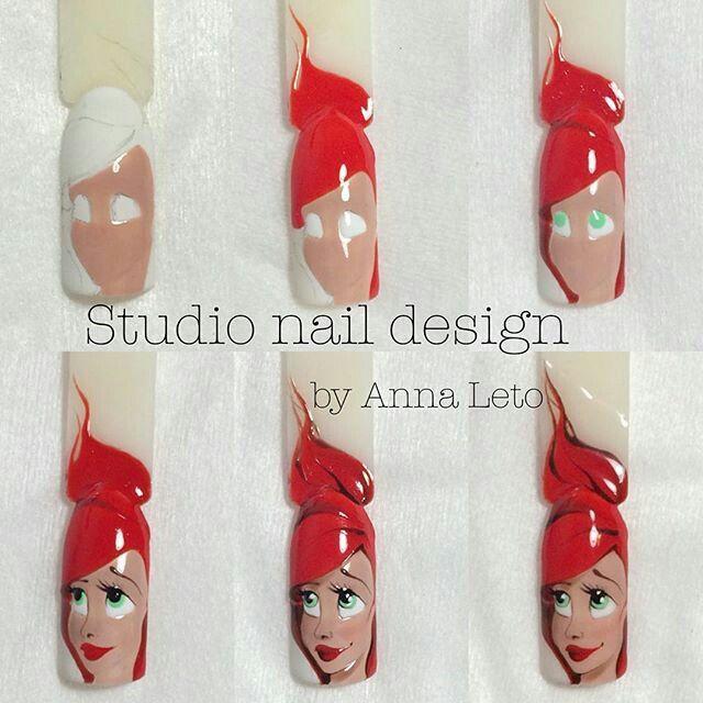 Step-by-step nail art tutorial | nail design | nail tutorial