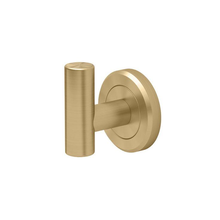 Gatco Latitude 2 Brushed Brass Towel Hook