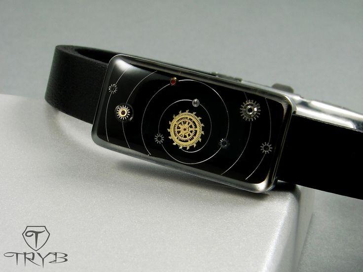 Solar System in bracelet by TRYB http://polandhandmade.pl  #polandhandmade #tryb #cosmic  #bracelet