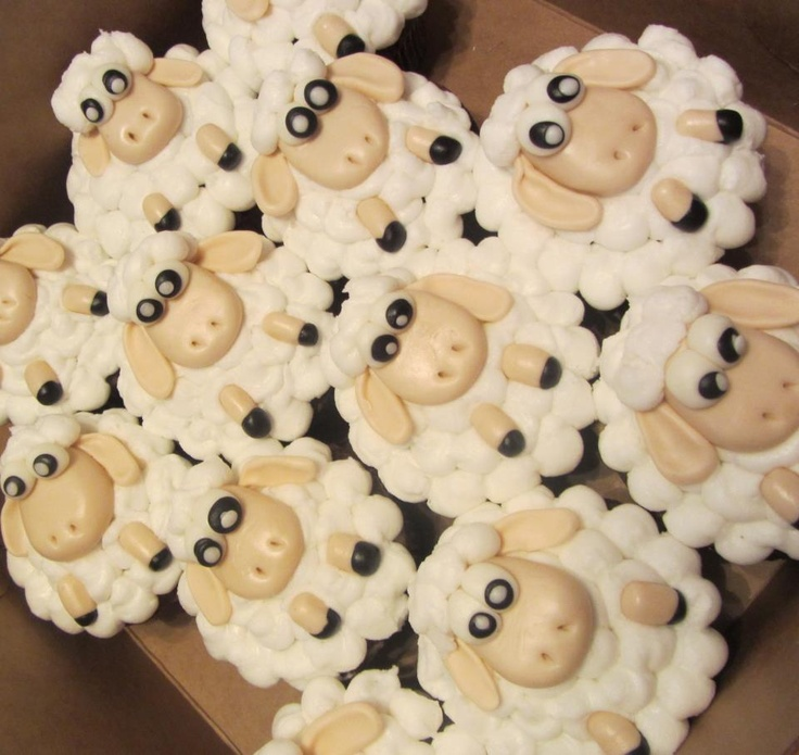 Lamb Cupkakes