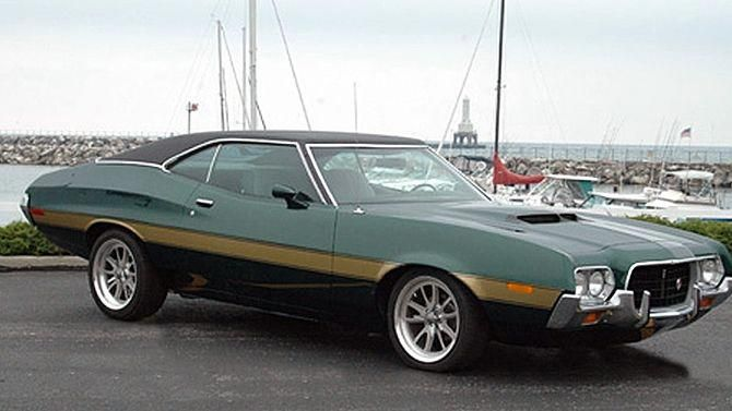 1972 Ford Gran Torino Mecum Auctions Fordclassiccars Muscle