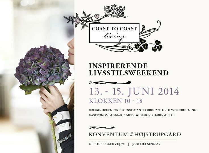 Coast to Coast Living Lifestyle fair in Elsinore, Denmark #Elsinore #LulusLove < www.coast-to-coast.dk