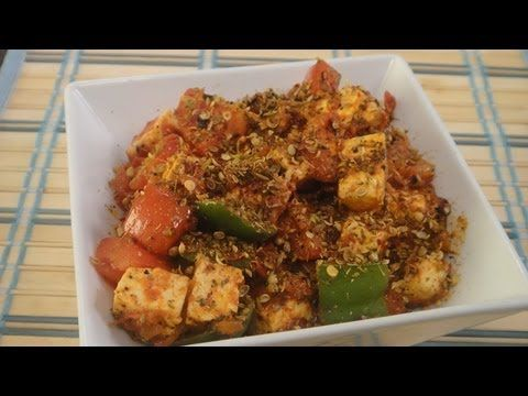 Kadai Paneer | Vegetarian Video Recipe by chef Sanjeev Kapoor.