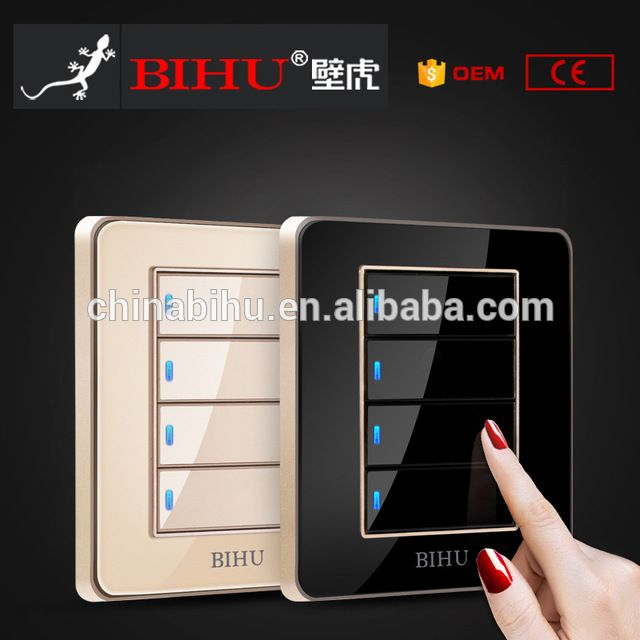Lanbon Eu Au Smart Switch Touch Screen Wall Light Switch 2gang 3gang 1 Way 2 Way Google Home Amazon Alexa Wifi Remote Swi Smart Switches Home Automation Switch
