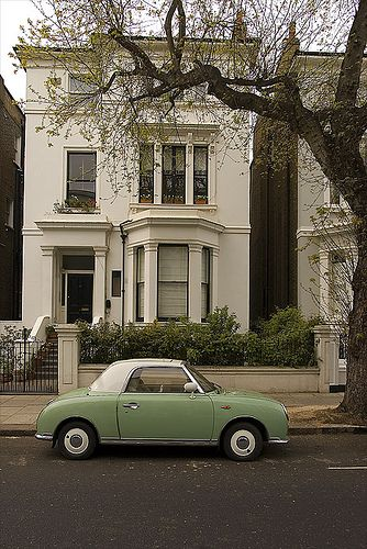 Green car by i-marco.  Nottinghill with Hugh Grant.