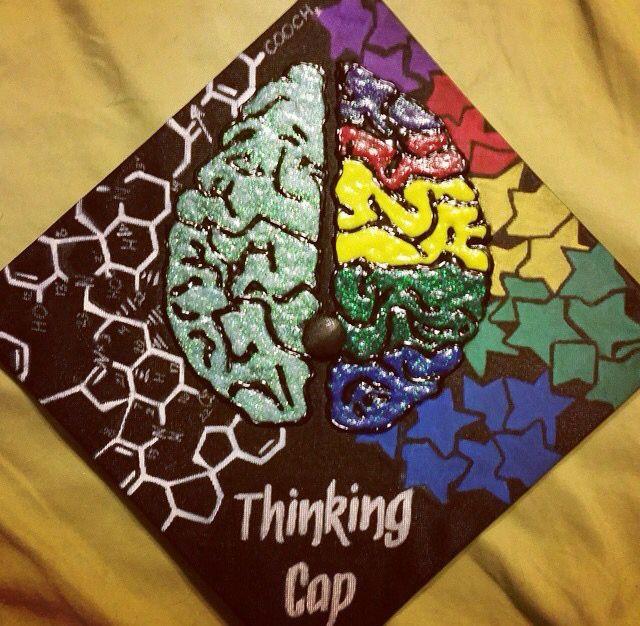 Biology Cap Decoration