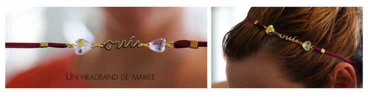 [ Vidéo ] Votre amoureux vous a enfin fait sa proposition et vous cherchez une idée originale pour lui dire OUI ? Surprenez-le grâce à ce headband ! Et pour vous aider voici le pas à pas >>> http://www.prima.fr/mode-beaute/realiser-un-headband-de-mariage-en-perles-swarovski/7969194/