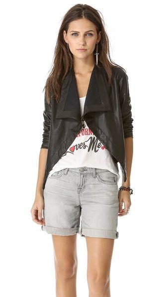 BB Dakota Jasper Drape Front Jacket determined to get this jacket