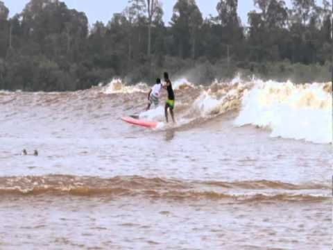 One of the world's best kept secrets, it seems, is the amazing Bono, the huge roaring tidal waves that rush in more than 60 km up the wide Kampar river in the district of Palalawan in the province of Riau on Sumatra