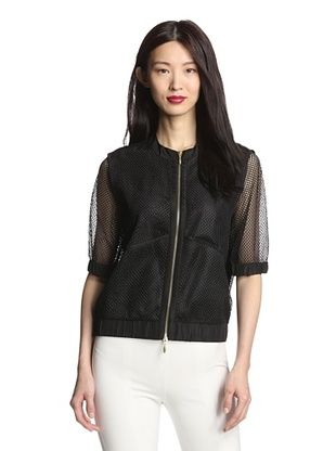67% OFF Insight Women's Mesh Bomber Jacket (Black)