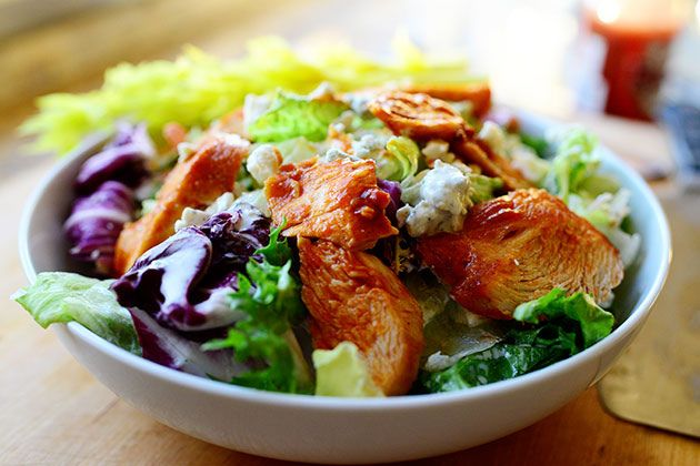 Buffalo Chicken Salad by one of my favorite people Ree Drummond aka The Pioneer Woman... DS