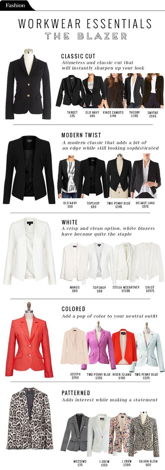 Fashion File: Workwear essentials - The Blazer