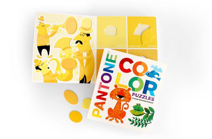 Pantone Color Puzzles | Carpenter Collective
