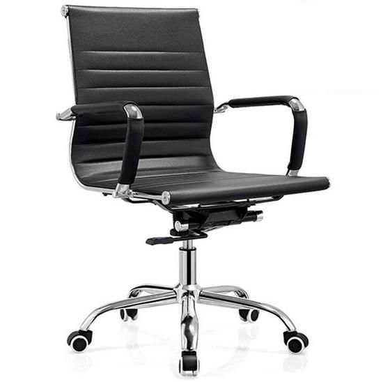 black leather low back office chair,meeting room chairs,cheap computer chair / low back office chair / ergonomic chairs online and executive chair on sale, office furniture manufacturer and supplier, office chair and office desk made in China