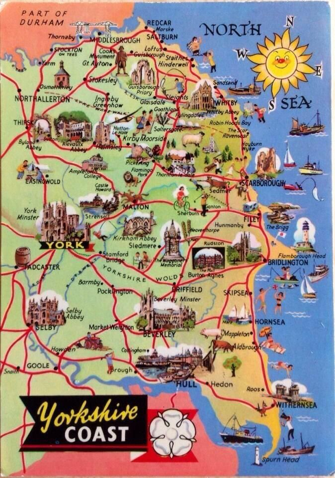 """""""What a great #Yorkshire poster. You really must come & visit us #adventure waiting #RT pls, tell everybody"""""""