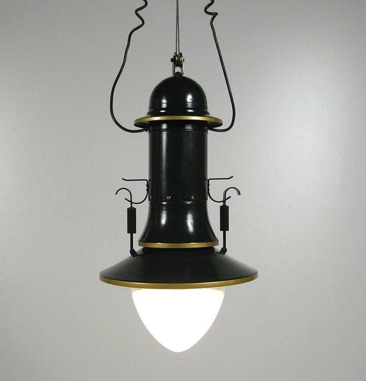 AEG SPARBOGEN PENDANT LIGHT 1907