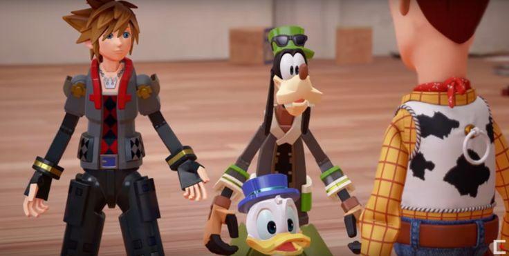 Kingdom Hearts 3 (2018) to get Toy Story world!  | photo from https://www.google.com/amp/thekingdominsider.com/kingdom-hearts-3-trailer-toy-story-game-play-d23/amp/