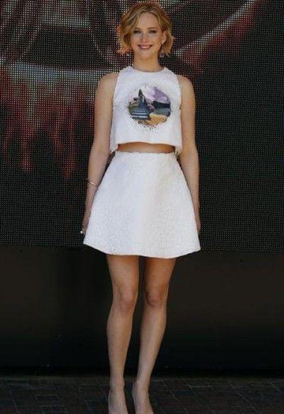 De 10 beste looks van het Filmfestival in Cannes Jennifer Lawrence in Dior