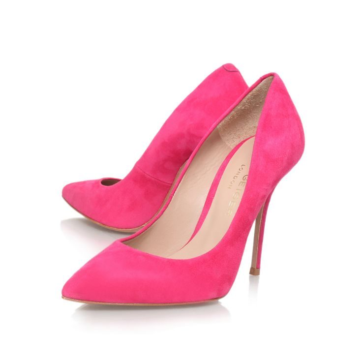 @Kurt Geiger Ellen pink court shoes