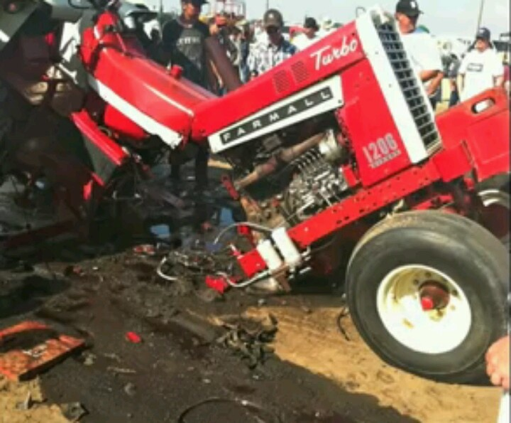 Broken Tractor Ford : Farmall puller broken in half pinterest